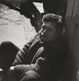 Sir Eduardo Paolozzi, by Lee Miller - NPG P1084