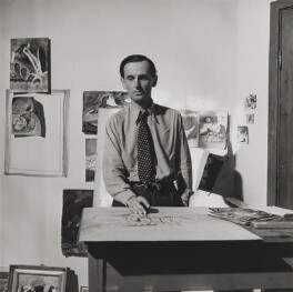 Graham Sutherland, by Lee Miller - NPG P1086