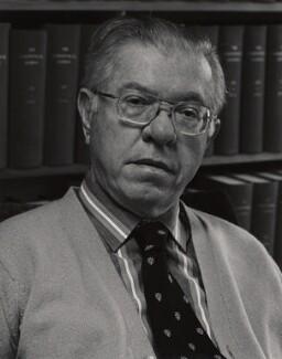 Sir Fred Hoyle, by Geoffrey Hoyle - NPG x24400