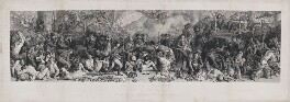 The Death of Nelson at the Battle of Trafalgar, by Charles William Sharpe, after  Daniel Maclise - NPG D17800