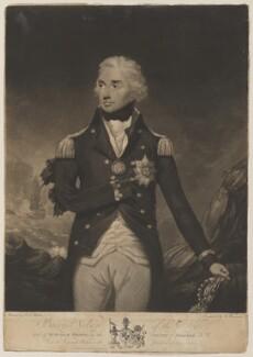 Horatio Nelson, by William Barnard, after  Lemuel Francis Abbott - NPG D17801