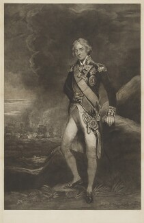Horatio Nelson, by Charles Turner, after  John Hoppner - NPG D17803
