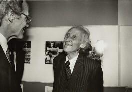 Michael Frayn; Bill Brandt, by Chris Taylor - NPG x126890