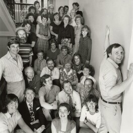 The Staff of the National Portrait Gallery, by Norman Parkinson - NPG x126894