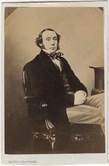 Richard Cornwallis Neville, 4th Baron Braybrooke, by Mayer Brothers - NPG Ax5065