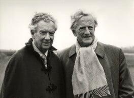 Benjamin Britten; Peter Pears, by Victor Parker - NPG x15260