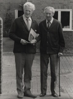 Peter Pears; Benjamin Britten, by East Anglian Daily Times - NPG x15263