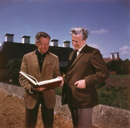 Benjamin Britten; Peter Pears, printed by Decca Records - NPG x15258