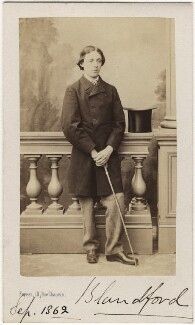George Charles Spencer-Churchill, 8th Duke of Marlborough, by Ferret, circa 1860 - NPG Ax5066 - © National Portrait Gallery, London