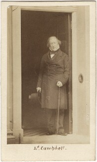 John Campbell, 1st Baron Campbell of St Andrews, by Caldesi, Blanford & Co, early 1860s - NPG Ax5082 - © National Portrait Gallery, London