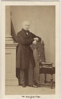 William Hookham Carpenter, by Caldesi, Blanford & Co, 1862 - NPG Ax5090 - © National Portrait Gallery, London