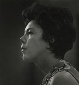 Janet Baker, by Godfrey MacDomnic - NPG x76988
