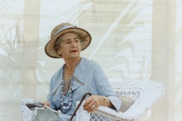 Dame Peggy Ashcroft as Mrs Moore in 'A Passage to India', by Frank Connor - NPG x126901