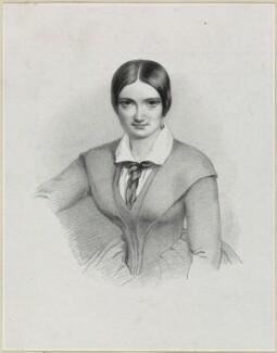 Possibly Charlotte Saunders Cushman, by Richard James Lane - NPG D21897