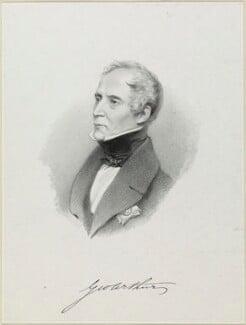 Sir George Arthur, 1st Bt, by Richard James Lane, 1842 - NPG D21898 - © National Portrait Gallery, London