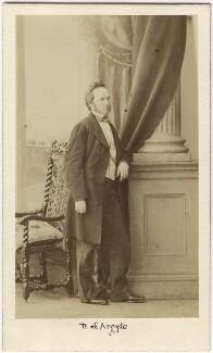 George Douglas Campbell, 8th Duke of Argyll, by Caldesi, Blanford & Co - NPG Ax5054