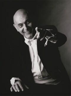 Sir Georg Solti, by Patrick Lichfield - NPG x126904