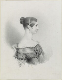 Queen Victoria, by Richard James Lane, published 1837 - NPG D21914 - © National Portrait Gallery, London