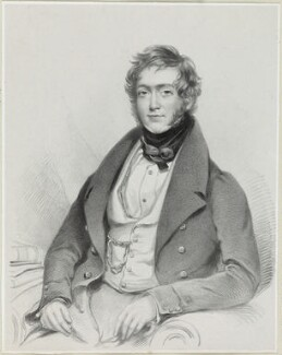 R.B. Barnes, by Richard James Lane, after  Charles Ambrose - NPG D21923