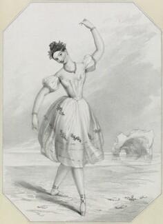 Pauline Duvernay (Yolande Marie Louise de Varnay), by Richard James Lane, after  John Rogers Herbert - NPG D21924