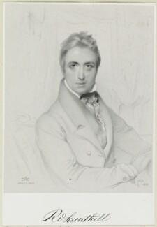 Richard Sainthill, by Richard James Lane, after  Daniel Maclise - NPG D21930