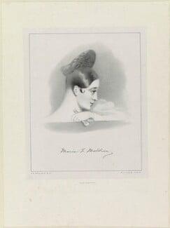 Marie Felicita Malibran (née Garcia), by Richard James Lane, printed by  Lemercier, after  Alfred Edward Chalon - NPG D21941