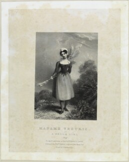 Madame Vestris, by Richard James Lane, printed by  Charles Joseph Hullmandel, published by  Joseph Dickinson - NPG D21951