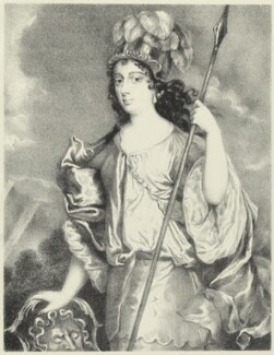 Barbara Palmer (née Villiers), Duchess of Cleveland, by Richard James Lane, after  Sir Peter Lely - NPG D21962
