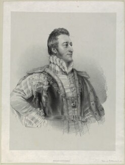 Hugh Percy, 3rd Duke of Northumberland, by Richard James Lane, printed by  Graf & Soret, after  Christina Robertson (née Saunders) - NPG D21963