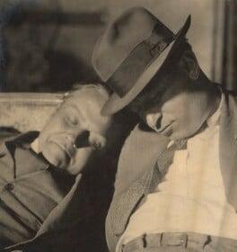 Two unknown men, by Fred Daniels, 1929 - NPG  - © Estate of Fred Daniels / National Portrait Gallery, London