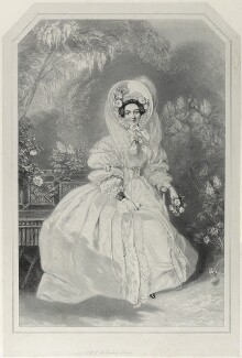 Princess Victoria, Duchess of Kent and Strathearn, by Richard James Lane, after  Alfred Edward Chalon - NPG D21980