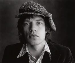 Mick Jagger, by Peter Webb - NPG x87565