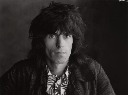 Keith Richards, by Peter Webb - NPG x87566