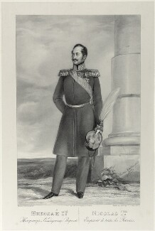 Nicholas I, Emperor of Russia, by Richard James Lane, printed by  Jérémie Graf, after  Christina Robertson (née Saunders) - NPG D21986