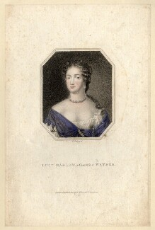 Called Lucy Walter, by Edward Scriven, after  Nicholas Dixon - NPG D13203
