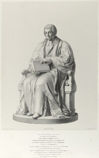 William Van Mildert, by Richard James Lane, after  John Gibson - NPG D21987