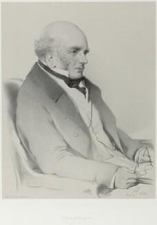 John Russell, 6th Duke of Bedford, by Richard James Lane, after  Sir Edwin Henry Landseer, 1852 (6 August 1838) - NPG D21990 - © National Portrait Gallery, London