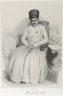 Sir Jamsetjee Jeejeebhoy, 1st Bt, by Richard James Lane, printed by  M & N Hanhart - NPG D21992