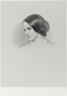 Mrs Elwes, by Richard James Lane - NPG D22005