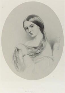 Mrs De Clifford, by Richard James Lane, after  Richard Buckner - NPG D22007