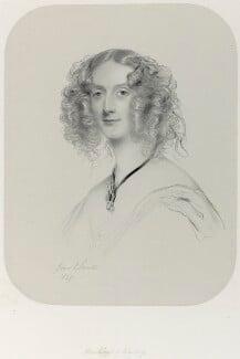 Maria Elizabeth (née Tollemache), Marchioness of Ailesbury, by Richard James Lane, after  James Rannie Swinton, (1849) - NPG D22008 - © National Portrait Gallery, London