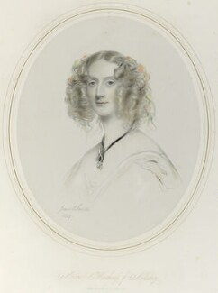Maria Elizabeth (née Tollemache), Marchioness of Ailesbury, by Richard James Lane, after  James Rannie Swinton - NPG D22009