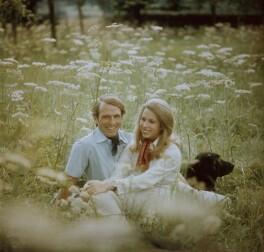 Mark Phillips; Princess Anne, by Norman Parkinson - NPG x126925