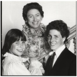 Princess Margaret with her children, by Norman Parkinson - NPG x126927