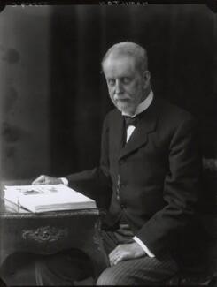 Lord George Francis Hamilton, by Walter Stoneman - NPG x34178