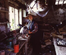 Valerie Finnis (later Lady Montagu Douglas Scott), by Jan Baldwin - NPG x126931