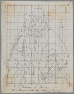 Thomas Egerton, 1st Viscount Brackley, by Henry Bone, after  Unknown artist - NPG D17136