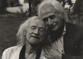 Richard Harris; Bryan Wharton, by Lewis Morley - NPG x126932