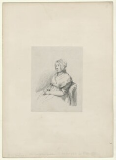 Sarah Chantrey (née Leggatt), by Richard James Lane - NPG D22028