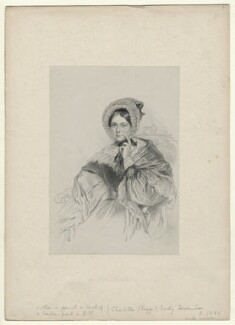 Charlotte Duncombe (née Legge), Lady Feversham, by Richard James Lane - NPG D22029